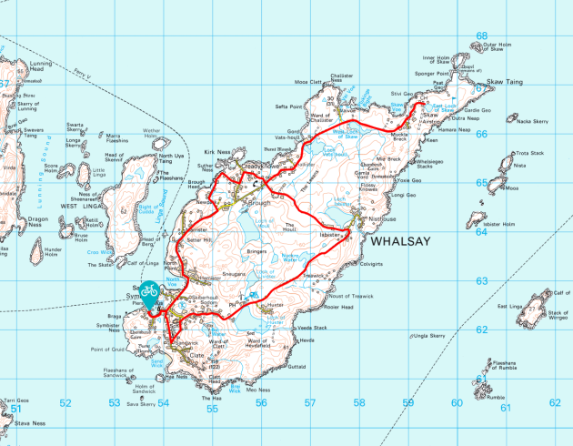 Whalsay MAP